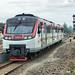 Railbus Arrive at Purwosari Station