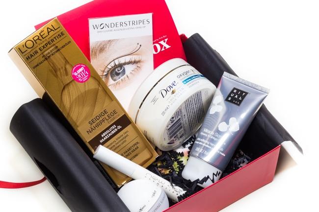 Gala Beauty Box Februar 2015, Überraschungsbox, Beautybox, Kosmetikbox