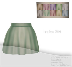 Loulou Skirt ~ Pastels Set