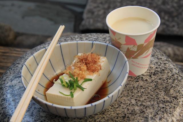 三忠豆腐茶屋 - 湯豆腐 + 熱豆乳