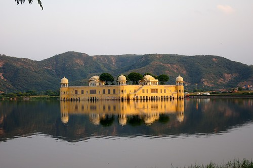 India - castle on the water