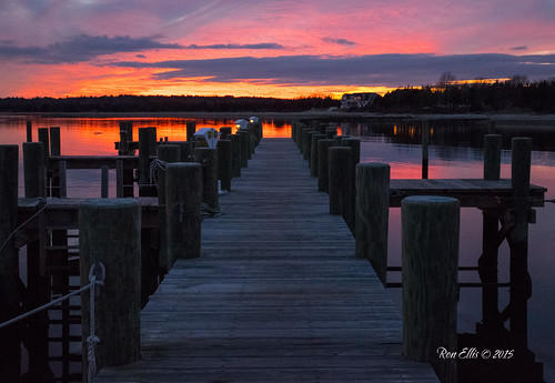 ocean sunset pier dock unitedstates massachusetts wharf mattapoisett mattaposett