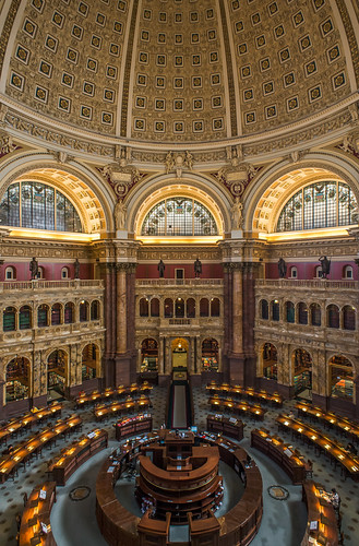 The Library of Congress Reading Room by Geoff Livingston