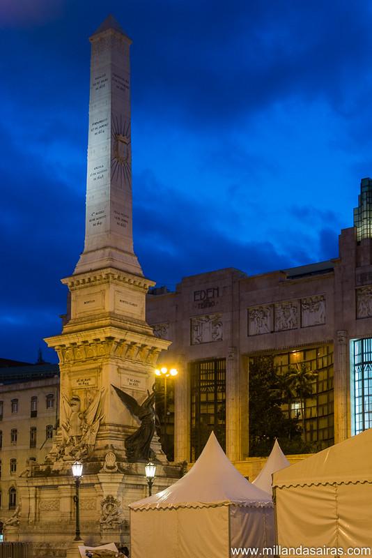 Obelisco de la Plaza dos restauradores