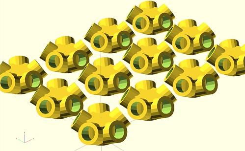 Icosohedron corners