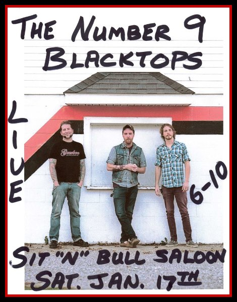 The Number 9 Blacktops 1-17-15