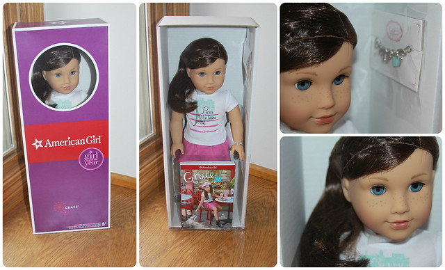 American Girl - Grace Thomas - Girl of the Year 2015 unboxing