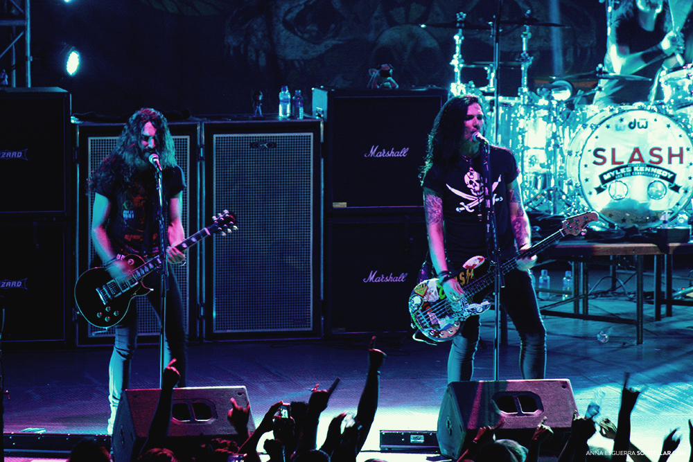 Slash Live in Manila 2013
