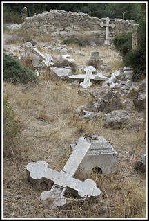 Greek cemetery Lapta Cyprus VI