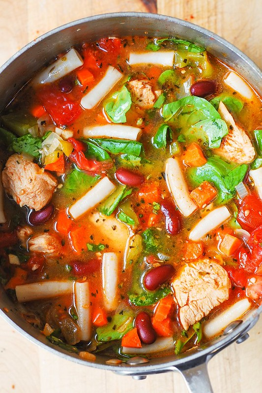 chicken soup with vegetables, chicken vegetable soup recipe