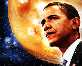 Obama Mars