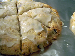"""Shannon's"" Lemon Cranberry Scones"