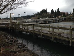 2015 King Tide in Olympia, WA