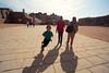 Temple run! (at Edfu temple)