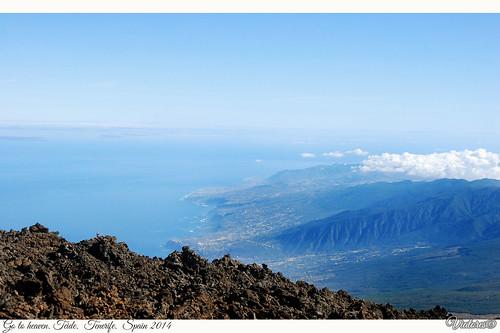 El Parque Nacional del Teide. Tenerife. Spain