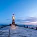 Roker Lighthouse by boscoppa