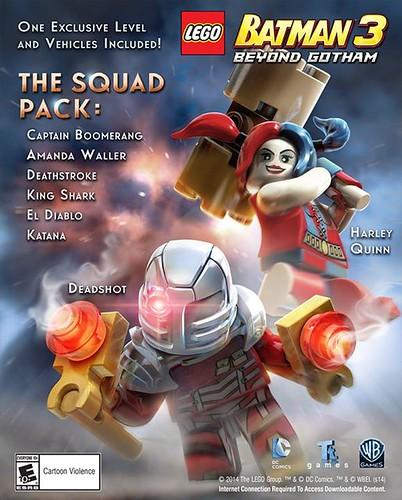 LEGO Batman 3: Beyond Gotham - The Squad Pack DLC