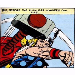 Hammer time! #Thor #Kirby #Comics