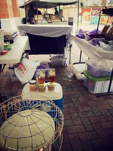 Farmers Market - adapting to extremely cold temps