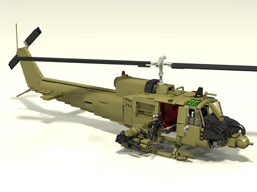UH-1C Huey Hog front upper right