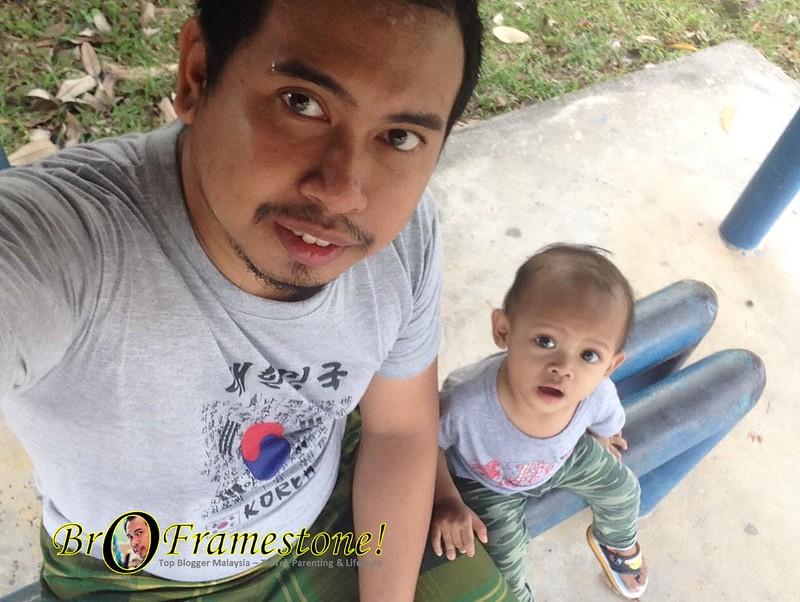 Selfie Anak Bapak Day Out
