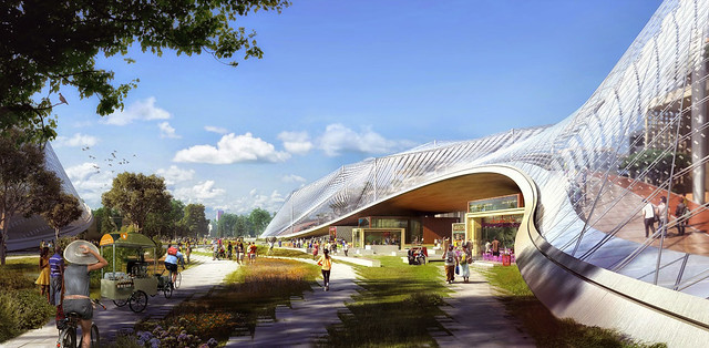 Google rending new campus