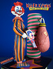 Killer Klowns From Outer Space Figure by Sota Striped Klown Loose Complete Toy Close