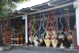 San Juan de Oriente is known for it's ceramics.  Nicaragua.
