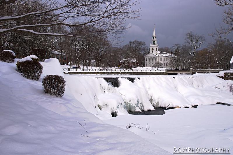 Falls Frozen Over