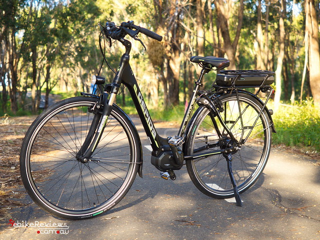 "Gepida Reptila (equipped with Shimano STEPS) • <a style=""font-size:0.8em;"" href=""https://www.flickr.com/photos/ebikereviews/16551441789/"" target=""_blank"">View on Flickr</a>"