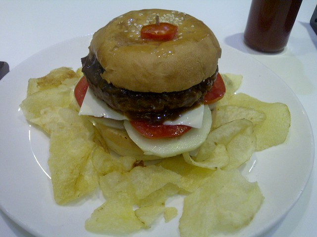 Royal Beef burger @ Coffee Beanz