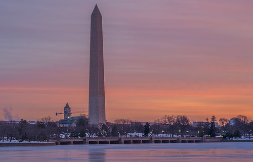 A Dash of Monet with the Washington Monument by Geoff Livingston