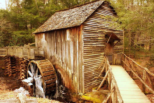Cades Cove: Cable Grist Mill