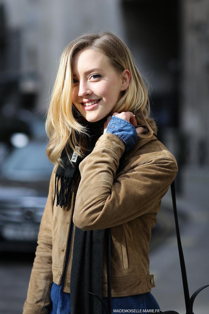 Sarah Mikaela at London Fashion Week