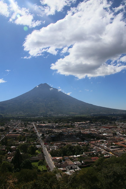 Volcan Agua. Antigua, Guatemala.