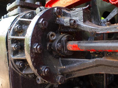 Große Lok, Detail