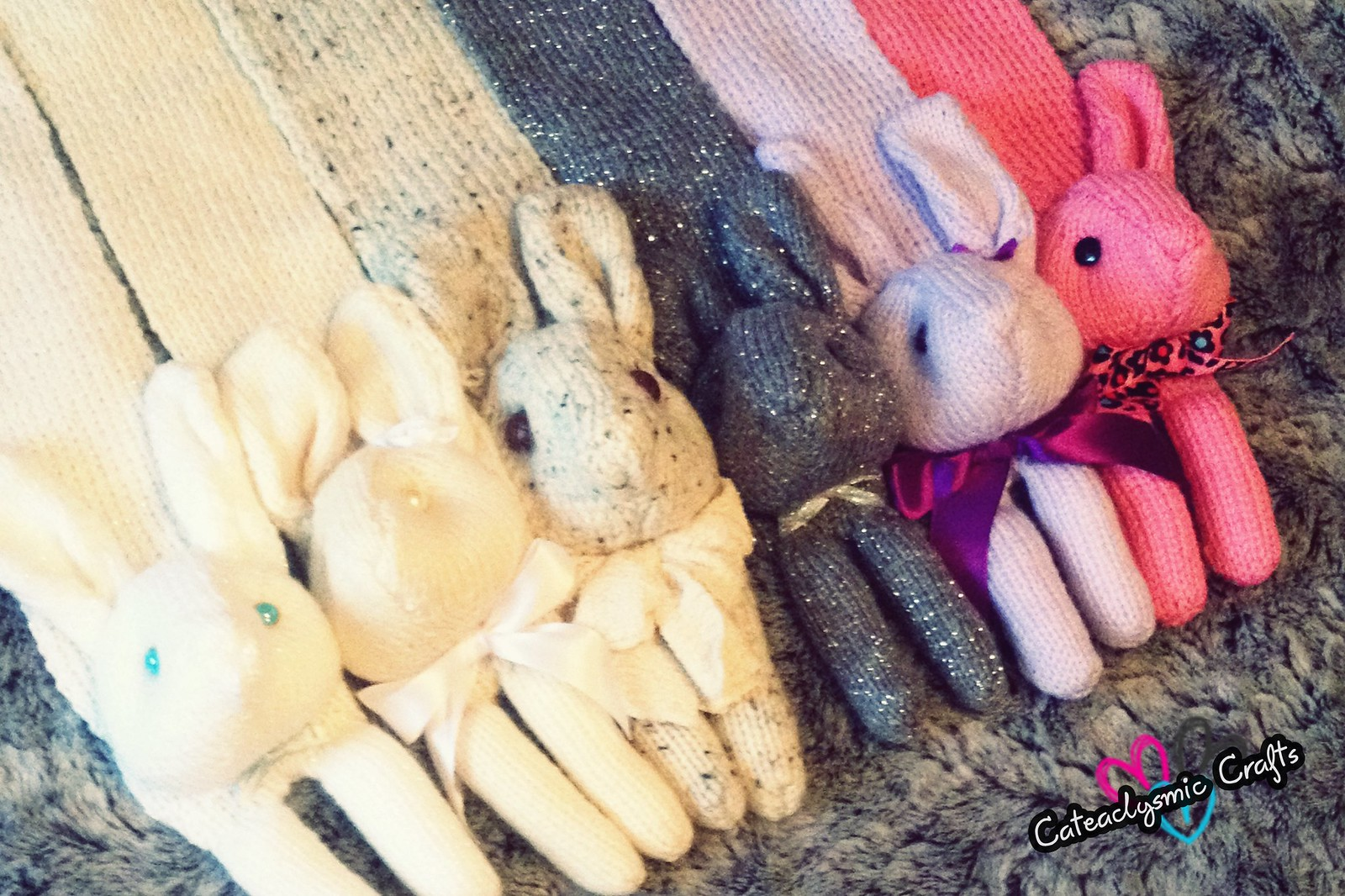 Bunny Scarves
