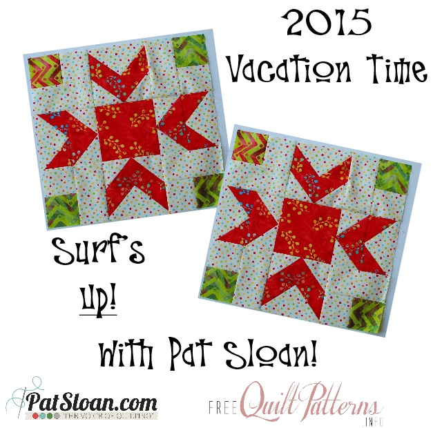 Pat Sloan 2015 Mar Vacation Time blocks