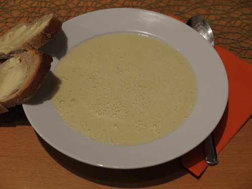 Genial leckere Topinambur-Crème-Suppe