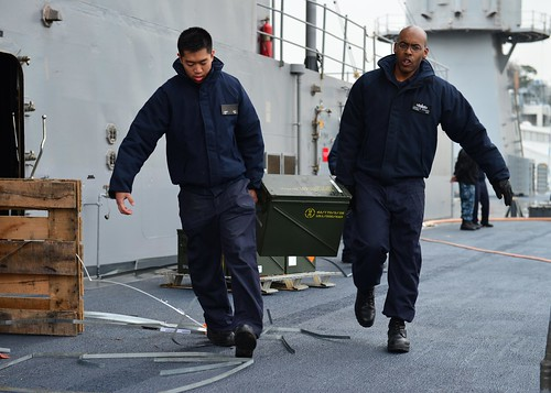 USS Blue Ridge Conducts Fast Cruise, Prepares for Patrols