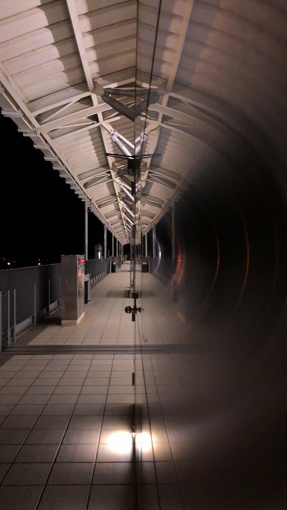竹北高鐵站北上月台 - zenfone 5