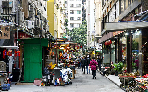 photo - Upper Lascar Row, Hong Kong