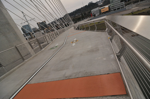 My first walk across Tilikum Bridge-30