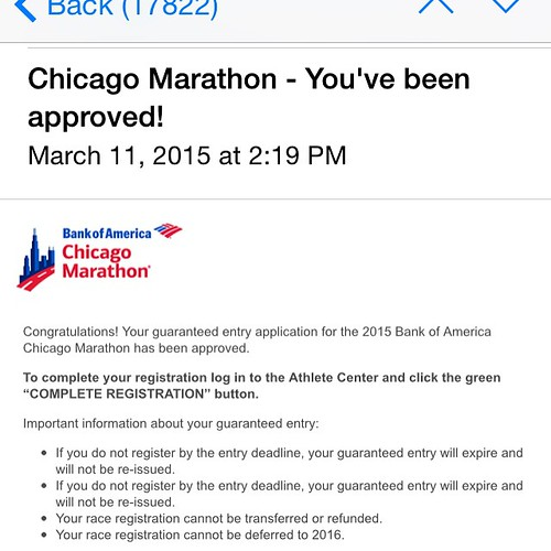 Chicago here I come! I'm so excited! #runchat #instarunner #runhappy