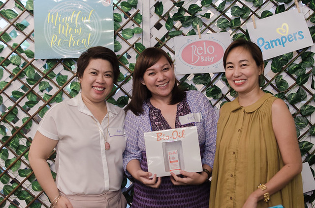 Mindful Mom Re-Treat wins a gift from Bio-Oil