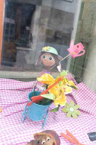 Figure in the Shop Window