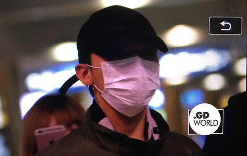 Big Bang - Incheon Airport - 27mar2016 - GD World - 04