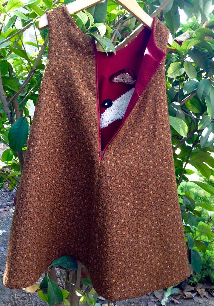 Vestido zorrito . Fox dress