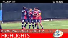 Vigontina-Virtus V. del 09-10-16