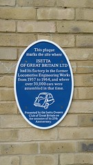 Photo of Isetta of Great Britain Ltd blue plaque